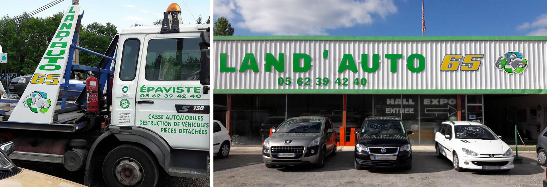 Land'Auto 65 à Cantaous